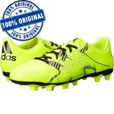 Pantofi sport Adidas X 15.4 pentru barbati - ghete fotbal originale, Marime: 42, 45 1/3, Culoare: Verde, Iarba: 1