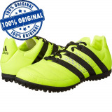 Pantofi sport Adidas Ace 16.3 Leather pentru barbati - adidasi originali fotbal - Ghete fotbal Adidas, Marime: 44, Culoare: Verde, Teren sintetic: 1