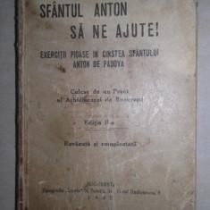 SFANTUL ANTON SA NE AJUTE, 1930 ///carte de rugaciuni