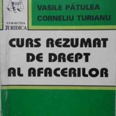 Curs Rezumat De Drept Al Afacerilor - Vasile Patulea, Corneliu Turianu, 404436 - Carte Drept penal