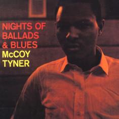 Mccoy Tyner Nights Of Ballads Blues 140g LP clear vinyl (vinyl)