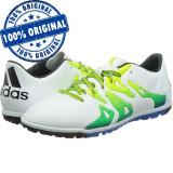 Pantofi sport Adidas X 15.3 pentru barbati - adidasi originali - teren sintetic, 44, Alb