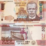 MALAWI 500 kwacha 2014 UNC!!!