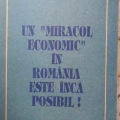 Un Miracol Economic In Romania Este Inca Posibil - Emerit Enghel N.rugina, 404508 - Carte Marketing