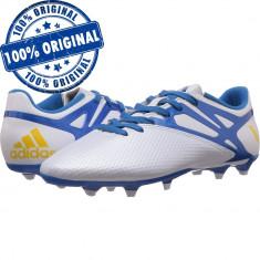Pantofi sport Adidas Messi 15.3 pentru barbati - ghete fotbal originale, 42 2/3