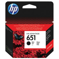 Cartus Original HP 651, HP C2P10AE BK, DeskJet Advantage 5575