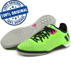 Pantofi sport Adidas Ace 16.1 pentru barbati - adidasi originali fotbal - Ghete fotbal Adidas, Marime: 40, 42, 44, Culoare: Verde, Sala