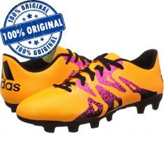 Pantofi sport Adidas X 15.4 pentru barbati - ghete originale - adidasi fotbal - Ghete fotbal Adidas, Marime: 42, 42 2/3, 43 1/3, 44 2/3, Culoare: Din imagine, Iarba: 1