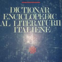 NINA FACON - DICTIONAR ENCICLOPEDIC AL LITERATURII ITALIENE