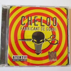 Raritate! Cd Hip Hop Cheloo-albumul Fabricant de gunoi 2006 - Muzica Hip Hop