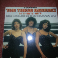 The Three Degrees-Hits-14 Great Tracks-Pickwik 1978 Ger vinil vinyl - Muzica R&B