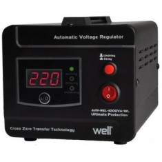 Regulator Automat de Tensiune AVR-REL-GUARD1000-WL, 1000VA