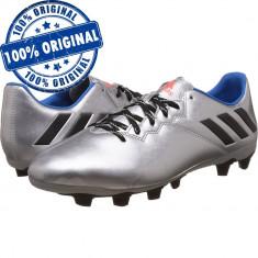 Pantofi sport Adidas Messi 16.4 pentru barbati - ghete fotbal - originale, Marime: 41 1/3, 42, 43 1/3, 44, 44 2/3, 45 1/3, Culoare: Argintiu, Iarba: 1