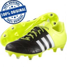Pantofi sport Adidas Ace 15.3 Leather pentru barbati - ghete fotbal - originale, Marime: 40 2/3, 42, Culoare: Din imagine, Iarba: 1