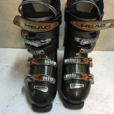 Clapari ski schi Head Edge 9 marime 40.5 mondo 26 flex 90