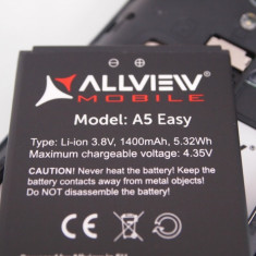 Baterie acumulator Allview A5 easy swap originala, Li-ion, 1000mAh/3, 7Wh