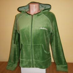 Hanorac de dama Adidas, mar 40, verde, in stare buna! - Hanorac dama Adidas, Culoare: Din imagine