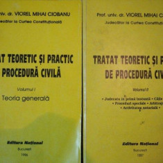 Tratat teoretic si practic de procedura civila - Viorel Mihai Ciobanu (2 vol.) - Carte Drept procesual civil