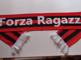 Esarfa fotbal - AC MILAN