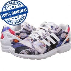 Pantofi sport Adidas Originals ZX Flux pentru barbati - adidasi originali - Adidasi barbati, Marime: 44, Culoare: Din imagine, Textil