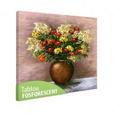 Tablou fosforescent Galbenele - Tablou canvas
