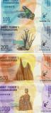 !!! MADAGASCAR - LOT 100 + 200 + 500 + 1000 ARIARY 2017 - P NEW - UNC