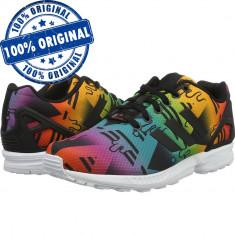 Pantofi sport Adidas Originals ZX Flux pentru barbati - adidasi originali - Adidasi barbati, Marime: 43 1/3, Culoare: Din imagine, Textil