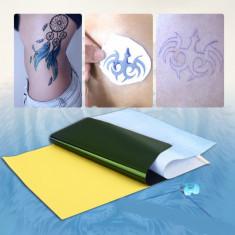HARTIE de transfer ptr. TATUAT TATUAJ TATOO set de 10 bucati - Masina tatuaje