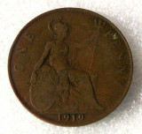 P2. Anglia Marea Britanie 1 penny 1919 **, Europa