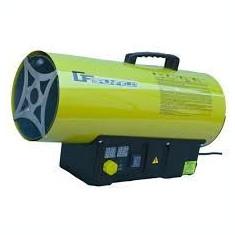 SUFLANTA AER CALD. Tun de Caldura pe GAZ-50 KW GRUNFELD GFAH 50-