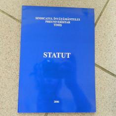 Statutul cadrului didactic. 2006. Sindicatul Invatamantului Preuniversitar