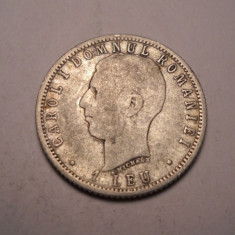1 leu 1906 3 - Moneda Romania