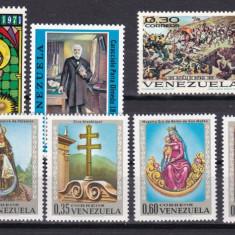 Venezuela 1970/71 pictura serii complete MNH w46 - Timbre straine, Nestampilat