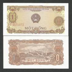 VIETNAM 1 DONG 1976 UNC [1] P-80a, necirculata - bancnota asia