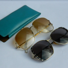 Ochelari de soare vintage / doua perechi - un pret
