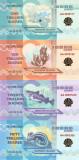 !!! DARWIN  ISLAND - LOT COMPLET ( 7 BUC.)  2015 - UNC / HOLOGRAMA  AURIE