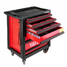 Dulap scule, Yato YT-55300 profesional, 958X766X465 mm, 177 buc, 6 sertare - Dulap scule Service