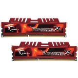 Memorie GSKill RipjawsX Red 16GB DDR3 1600 MHz CL10 Dual Channel Kit