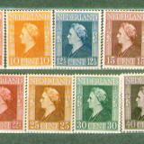 Olanda 1946 Regina Wilhelmina serie neuzata MNH, Nestampilat