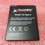 Acumulator Allview V2 viper s  original nou, Alt model telefon Allview, 3000mAh/11,1Wh, Li-ion