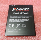 Acumulator Allview V2 viper s  original folosit, Alt model telefon Allview, 3000mAh/11,1Wh, Li-ion