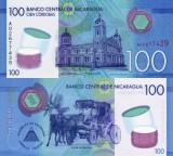 NICARAGUA 100 cordobas 2014 (2015) polymer UNC!!!