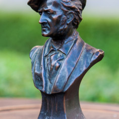 Bust antimoniu George Dimitriu 1931 - RICHARD WAGNER - Sculptura