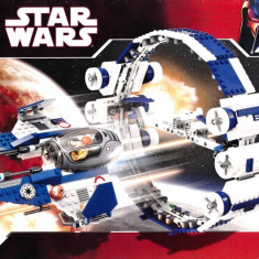 LEGO 7661 Jedi Starfighter with Hyperdrive Booster Ring - LEGO City