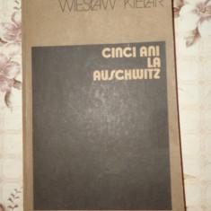 Cinci ani la Auschwitz an 1984/398pag- Wieslaw Kielar