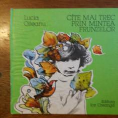 Cate mai trec prin mintea frunzelor - Lucia Olteanu / C65P - Carte de povesti