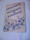 INTRODUCERE IN MATEMATICA CAMELIA BURLAN 1993