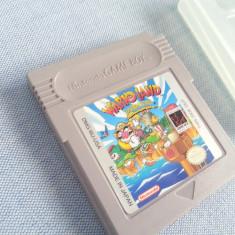 Joc Warioland Super Mario Land 3 USA Nintendo Game Boy colectie caseta discheta - Jocuri Game Boy