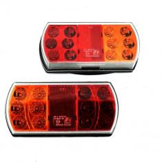Set stopuri/ triple remorca SMD TRL030 12v-24V, Universal