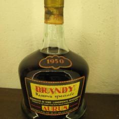 Brandy, AURUM RISERVA SPECIALE, CL 75 gr 42, 5 anu 1950 - Cognac